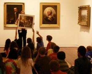 kids and docent